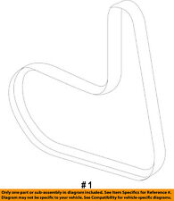 FORD OEM 11-13 Fiesta-Serpentine Drive Fan Belt BE8Z8620A