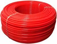 "PEX Tubing, Oxygen Barrier for Hydronic Radiant Floor Heating 1/2"" x 1200' Red"