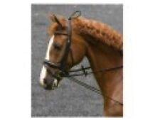 Halsverlängerer Imperial Riding elastisch Gummi schwarz mit Kunststoffclip NEU
