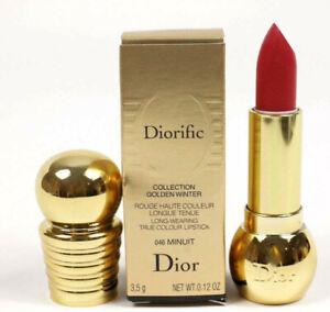 Dior Diorific 046 Minuit True Color Lipstick 0.12 oz NIB