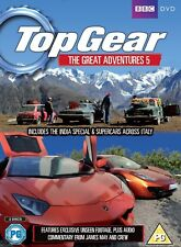 TOP GEAR UK 2011-2012 - INDIA + ITALY Great Adventures 5 SPECIAL R2/4 DVD not US
