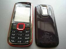 New Nokia  5130  5130xm housing cover  keypad fascia set   red colour