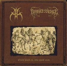 """ANNTHENNATH / QUINTESSENCE 12"""" LP Split """"Eram quod es, eris quod sum"""" ltd. 300"""