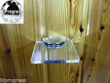 "Wall Clear Acrylic Plexi-glass Square Shelf Organizer Holder Stand 4.0""X4.0"""