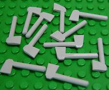 LEGO - 12 x Axt / Beil in neu - hellgrau / Light Bluish Gray Axe / 3835 NEUWARE