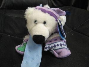 """9"""" plush Dmitri, teddy bear, made by First & Main"""