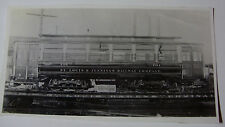 USA523 ST LOUIS & JENNINGS RAILWAY Co TROLLEY No101 on TRAIN PHOTO Missouri USA