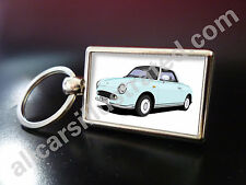 NISSAN FIGARO KEY RING. CHOOSE YOUR CAR COLOUR.