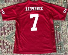 ff026e266 Colin Kaepernick San Francisco 49ers NFL Football Red Jersey SIZE Youth  Large