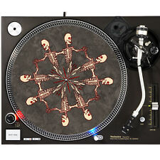 Portable Products Dj Turntable Slipmat 12 inch - Gothic Graveyard Dance