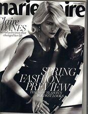 CLAIRE DANES Marie Claire Magazine 2/07 JESSICA ALBA