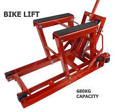 Motorcycle ATV Jack Lift Stand Quad Dirt Street Bike Hoist 1500 Lbs