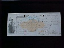 U.S: USED CHECK #RNC9 1874 OREGON STEAMSHIP CO PORTLAND OR