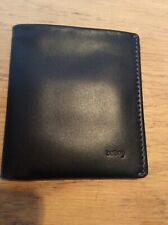 BELLROY NOTE SLEEVE BLACK LEATHER WALLET. BRAND NEW IN ORIGINAL PACKAGING