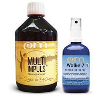 Multi Impuls 0,5 L & Wolke 7, Darmflora, Darmsanierung, Energetikspray