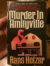 Murder In Amityville By Hans Holzer Very Rare True Crime Collectible Paperback