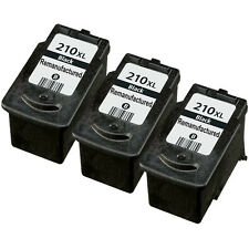 3 Pack Canon PG-210XL Ink Cartridge Black - PIXMA iP2700 MP250 MP490 MX330 MX410
