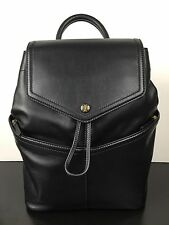 NWT TORY BURCH Leather Backpack In Black Leather W/RECEIPT!