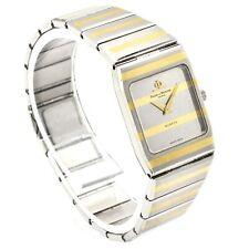 Baume & Mercier Monte Carlo Stainless 18K Gold Quartz Women's Watch Ref 5820.038