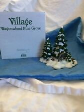 Department 56 Village Wagon wheel Pine Grove