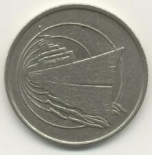 Dolphin Cruise Line . Slot Machine $ Coin . Cruise Ship Ocean Liner Boat Casino
