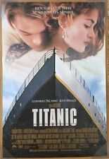 TITANIC MOVIE POSTER 1 Sided ORIGINAL FRENCH 27x40 LEONARDO DICAPRIO
