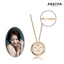 Pinocchio 2014 TV series Drama Park Shin hye Buttons Pendant Necklace AGATHA 14K
