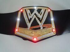 WWE CHAMPION WRESTLING BELT WITH LIGHT & SOUNDS 2013 MATTEL