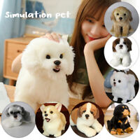Realistic Simulation Dog Plush Toy Pomeranian Hiromi Labrador Toy Doll Stuffed