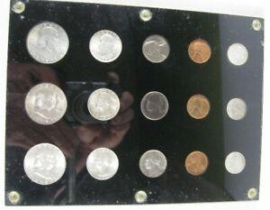 1954 P D S Franklin Half Dollar Uncirculated Mint Set