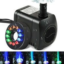Submersible Water Pump Aquarium Fish Tank Fountain Pump With Led Color Change
