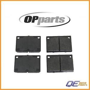 Volvo 164 240 242 244 245 262 264 265 Front Brake Pads OPparts Semi Met D8043OSM