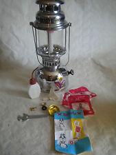 VINTAGE Cherosene Lanterna Lampada a pressione a pressione 500 Farfalla Cinese + Parts