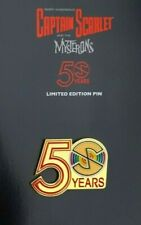 More details for gerry anderson captain scarlet & the mysterons 50th anniversary ltd ed pin badge