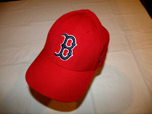 Boston Red Sox Red Hat NIKE Team Low Profile 15% Wool Men's Adjustable Strap