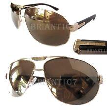 New GUESS GGU2073 Gold/Brown Mens Sunglasses + Case $75.00