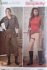 STAR WARS RESISTANCE - MISSES' COSTUMES (Sz 16 -24) SIMPLICITY #8480