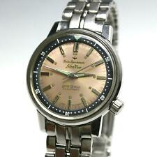 Vintage 1960's Seiko Sportsmatic Silver Wave 6601-7991 Automatic SS Dive Watch