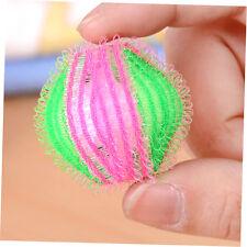 6 Pcs Hair Grabbing Laundry Washing Machine Clothes Softener Laundry Balls AU@