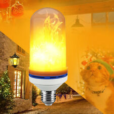 E27 6W LED Burning Light Flicker Flame Lamp Bulb Fire Effect Decorative 1000LM