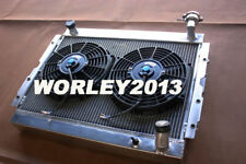 Aluminum radiator + fan for LANDCRUISER 60 Series FJ60 FJ61 FJ62 petrol manual