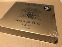 Queen Greatest Hits 1 + 2 Gold 1994 Double Cd Sealed Mint Rare