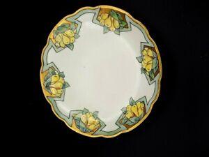 Antique Art Nouveau M.Z. Austria Decorative Cabinet Plate