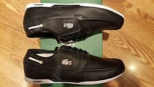 Lacoste Dreyfus AP Men's Casual Leather Sport Shoes US8.5/EUR41/MM255 Black