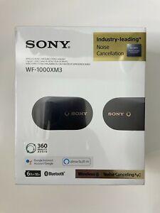 Sony WF-1000XM3 Wireless Noise Cancelling Headphones - Black Free Shipping