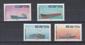 Navires Marschall Îles 398 - 401 (MNH)