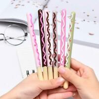 Cute Cookie Shape Black Ink 0.38mm Gel Pen Student Ball Point Pen Stationery