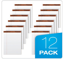 Legal Pad Writing Pads, 8-1/2 x 11-3/4, Legal Rule, 50 Sheets, 12 Pack