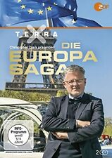 Terra X: Die Europa-Saga NEU OVP 2 DVDs