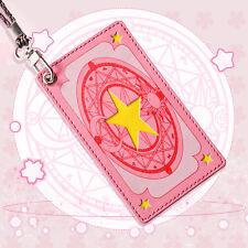 CardCaptor Sakura Sakura Card Credit IC ID Bus Pass Room Smart Card Holder Case